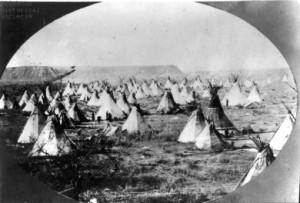 Cheyenne-Indian-Village