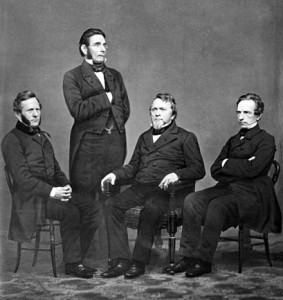"""The 4 Harper Brothers, Publishers of the American version of """"Moby Dick"""""""